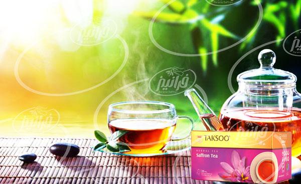 سفارش آنلاین چای زعفرانی تکسو صادراتی