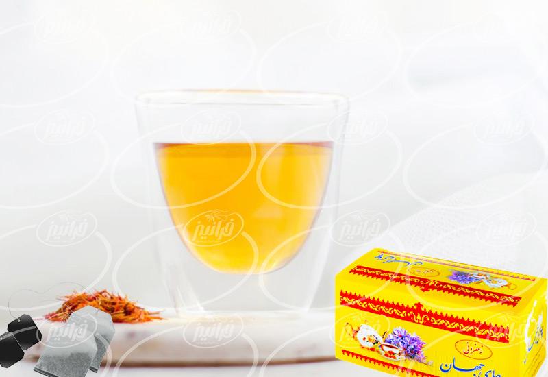 صادرات چای زعفرانی جهان درجه یک