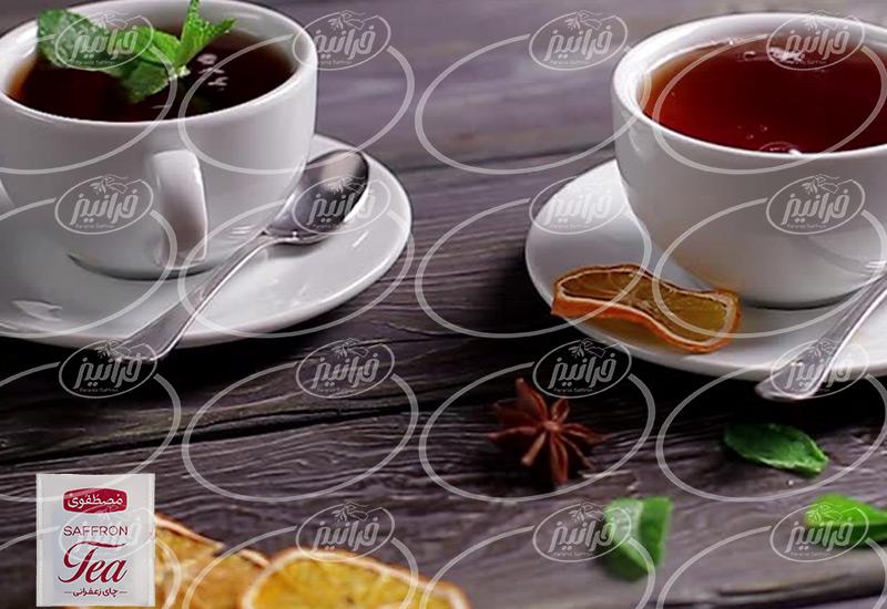 عرضه باکیفیت ترین چای زعفرانی مشهد