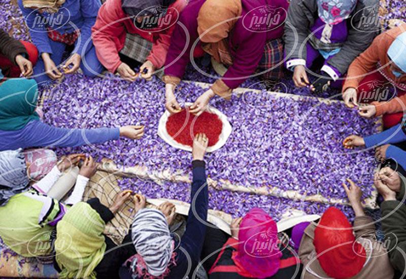 میزان سود فروش زعفران در دبی