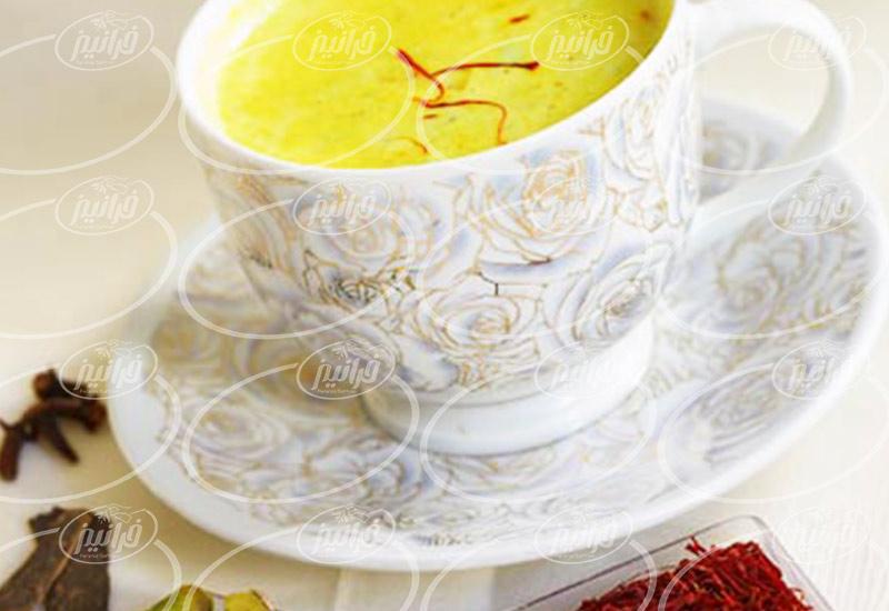 قیمت استثنایی دمنوش چای زعفران نیوشا