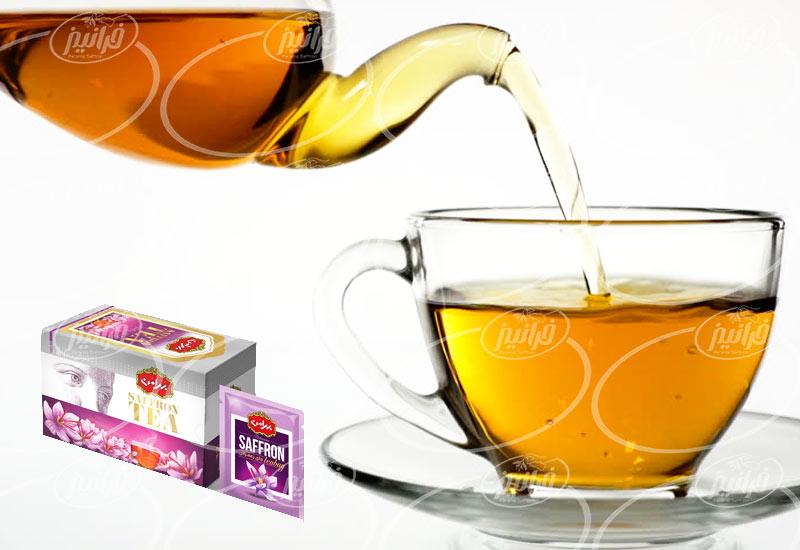 فروشگاه مرکزی چای زعفرانی بهرامن