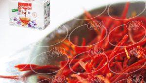 فروش دمنوش نوین زعفران مستقیم از درب کارخانه