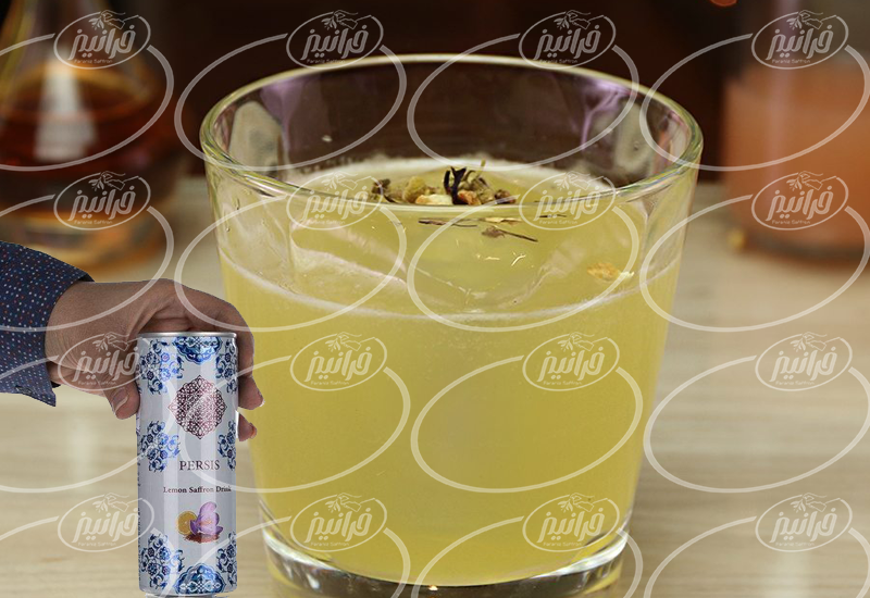 نمایندگی نوشیدنی زعفران لیمو با برند پرسیس