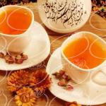 تجارت منحصر به فرد چای زعفران ادمان به صورت عمده