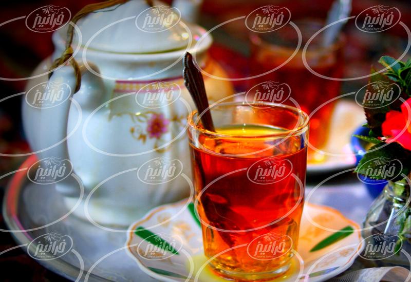 خرید چای سبز زعفرانی با کیفیت باور نکردنی