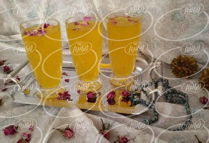 صادرات شربت زعفران سنابل مرغوب ارگانیک