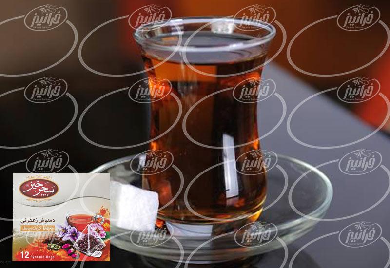قیمت دمنوش زعفران سحرخیز برای شرکت های عرضه کننده