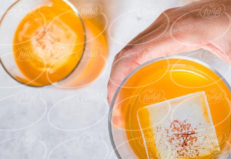 قیمت شربت زعفران ۶۵۰ گرمی