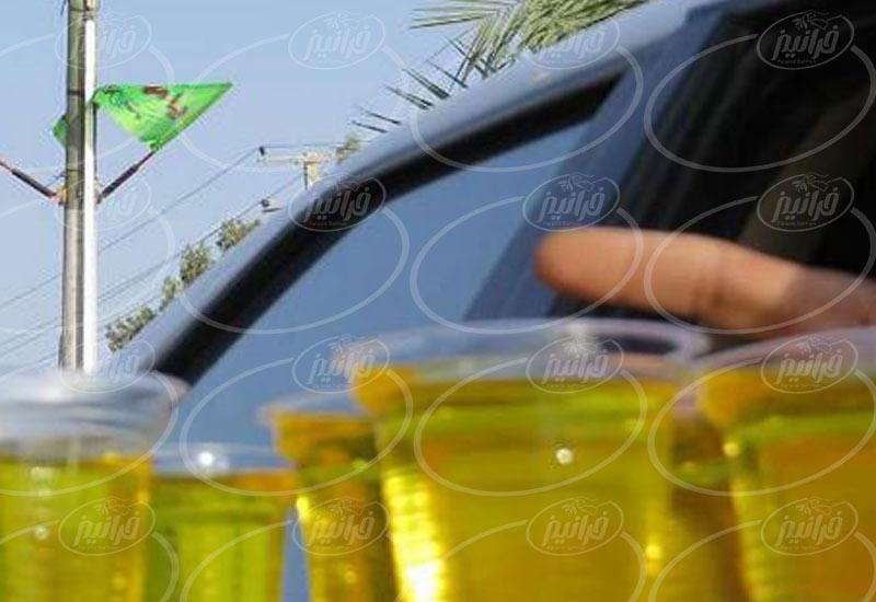 خرید شربت زعفران از شهرستان گناباد