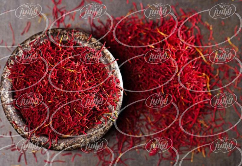 قیمت زعفران فله ای گناباد و قاینات