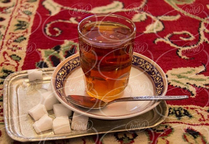 سبد خرید دمنوش زعفران اصل