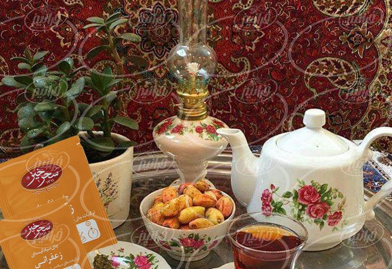 ارتباط با نمایندگان فروش چای سیاه زعفرانی سحرخیز